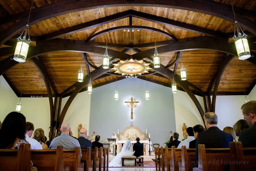 St. Raymond of Penafort Catholic Church Wedding.